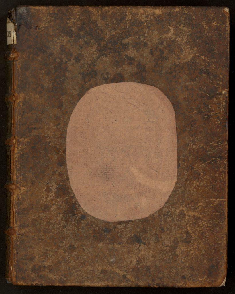 Descartes. De homine (1677). Plat supérieur, éclairage vertical.
