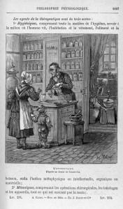 """Image extraite de """"Hygiène et médecine des deux sexes. Sciences mises à la portée de tous"""" (1885) d'Alexis CLERC"""