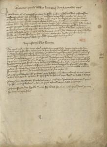 La liste des ouvrages de 1395