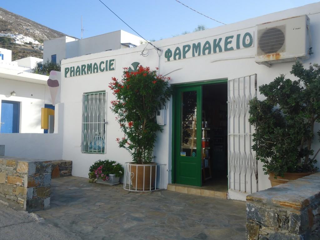 Pharmacies - Amorgos