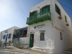 Officine à Amorgos (Grèce). Source : Guy Cobolet