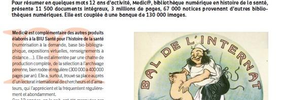 Medic@ à l'honneur dans Arabesques, la revue de l'ABES