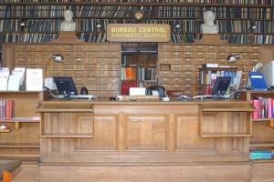Les tiroirs du bureau central (réaménagement de 1908)