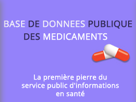 Base de données publique du médicament