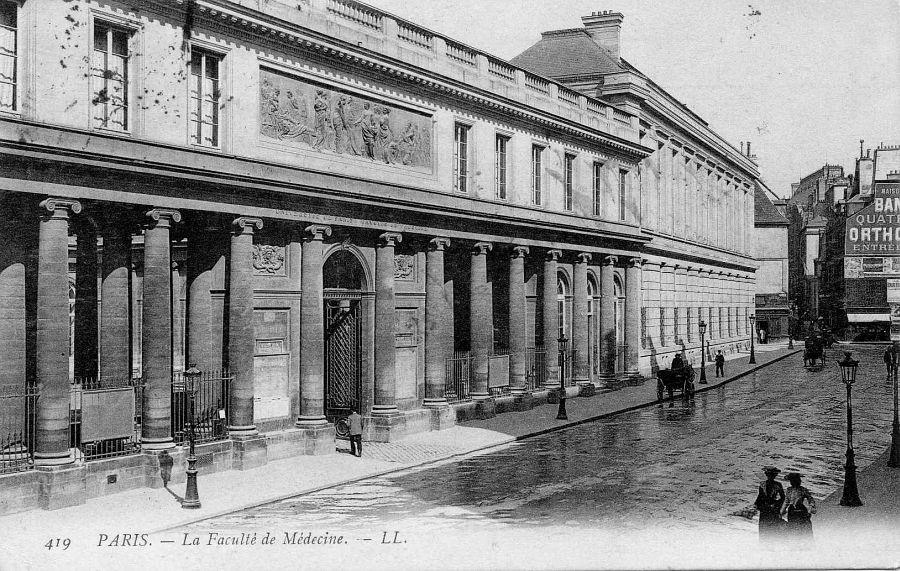 Rue de l'Ecole-de-Médecine