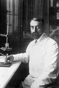 Ernest Fourneau à l'Institut Pasteur