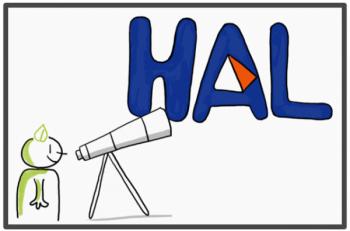 Stand HAL et Open Access à la Faculté de Pharmacie du 19 au 21 novembre