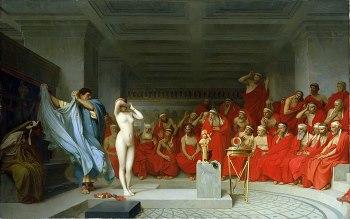 Jean-Leon_Gerome_Phryne_devant_l_Areopage_1861