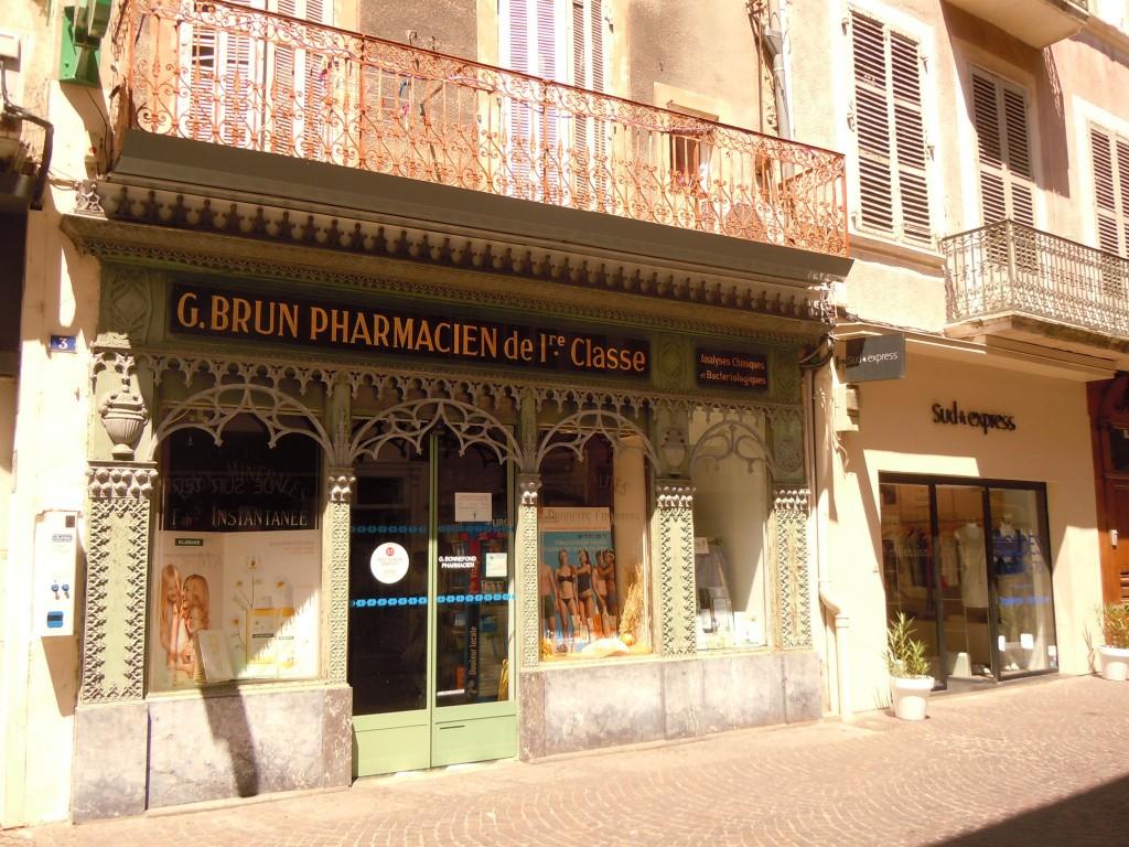 Pharmacie classée monument historique - Montélimar