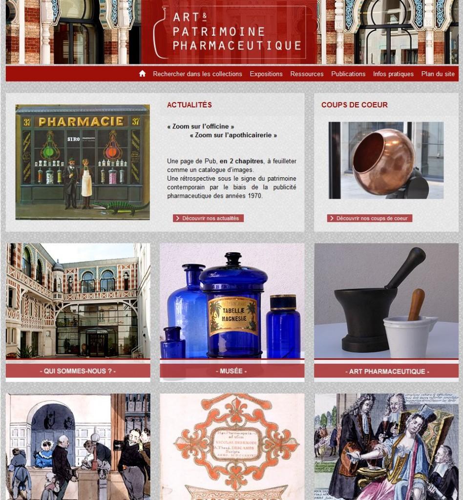 Portail Art et patrimoine pharmaceutique