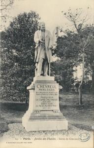 Statue de Chevreul (Jardin des plantes, Paris) Source : Medic@