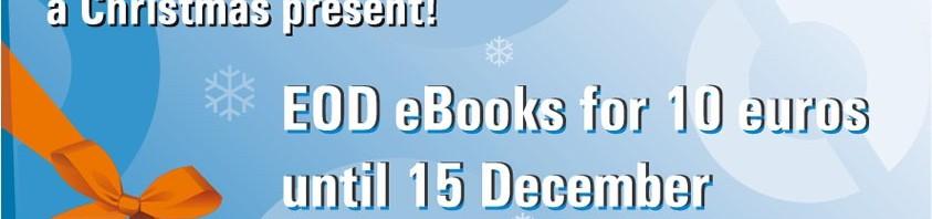 Ebooks EOD à 10 euros