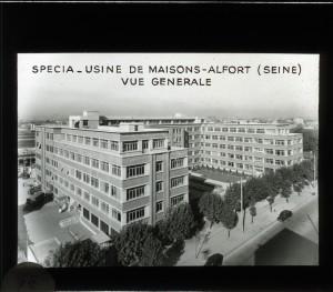 SPECIA. Usine de Maison-Alfort (Seine). Vue générale. Source : BIU Santé - Fonds Janot