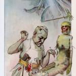 Caricature du Docteur Doyen. Source : Banque d'images et de portraits, Medic@.