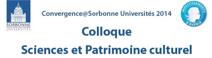 Colloque Sciences et Patrimoine culturel (14 février 2014)