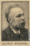 Brouardel, Paul Camille Hippolyte (1837-1906)
