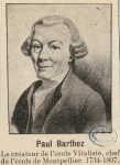 Barthez, Paul Joseph (1734-1806)