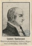 Spallanzani, Lazzaro (1729-1799)