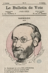 Bamberger, Henri  - Le Bulletin de vote