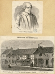 Shakspeare, William / La maison de Shakspeare, à Stratford