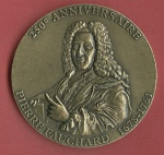 Avers :  250e anniversaire - Pierre Fauchard 1678-1761Revers : SFHAD ONCD ANCD ADF