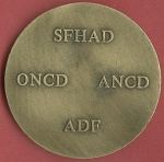 Avers :  250e anniversaire - Pierre Fauchard 1678-1761Revers : SFHAD ONCD ANCD ADF -  - meda0130