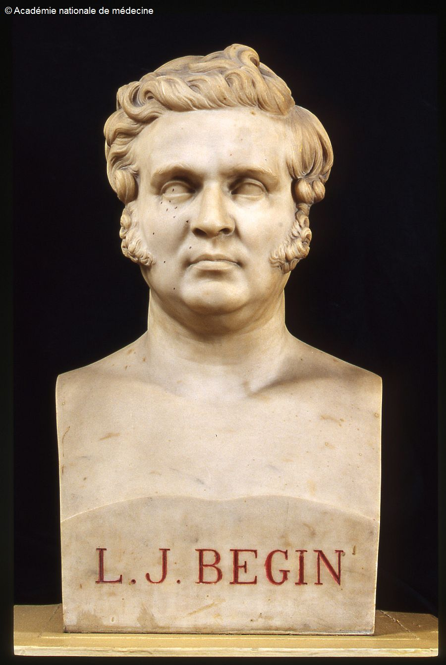 Bégin (Louis Jacques) 1793-1859. Buste -  - anmo0317