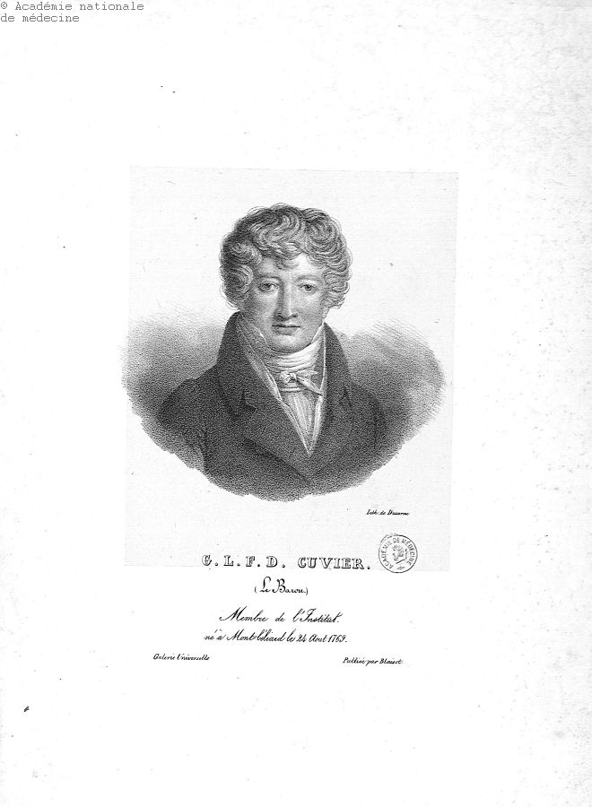 Cuvier, Georges (1769-1832) -  - anmpx04x0120