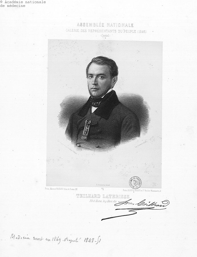 Teilhard-Laterisse, Jules (1811-1869) -  - anmpx06x0226