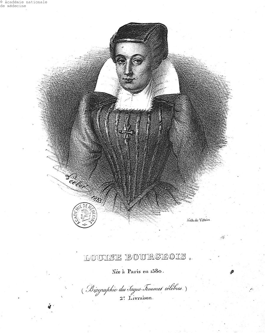 Bourgeois, Louise dite Boursier (1563-1636) -  - anmpx10x0365