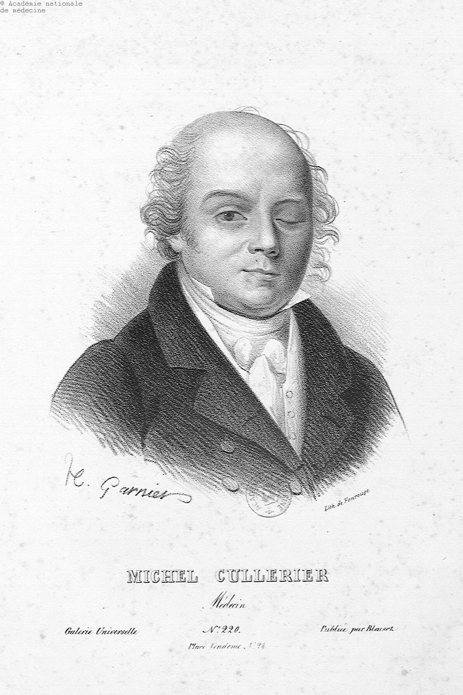 Cullerier, Michel (1758-1827) -  - anmpx13x0743