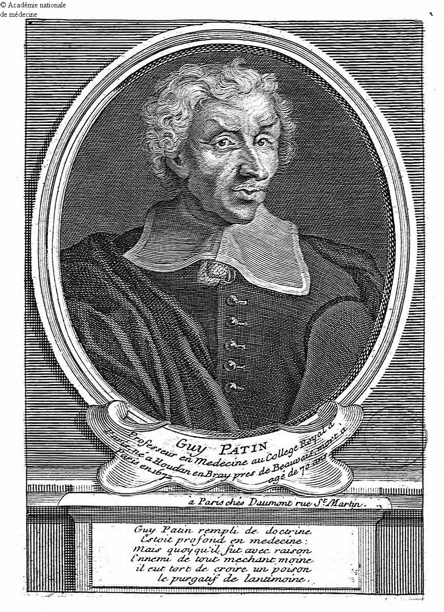 Patin, Guy (1601-1672) -  - anmpx23x2624