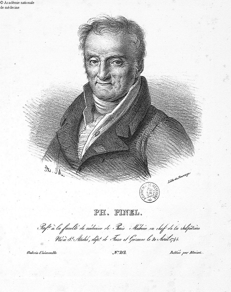 Pinel, Philippe (1745-1826) -  - anmpx24x2728
