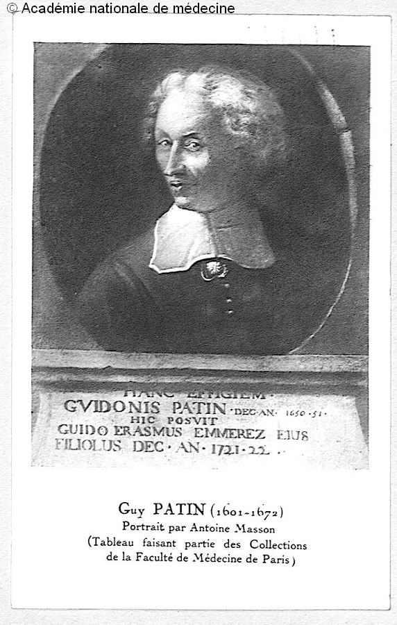 PATIN, Guy (1601-1672) -  - anmpx39x0140