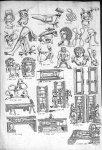 Planche de chirurgie extraites de : Operum Hippocratis Coi et Galeni Pergameni Archiatron. Tomus XII [...]