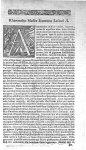[Bandeau et lettrine : A] - Commentarius in Hippocratis Coi, libellum De alimento, in quo multiplici [...]