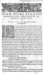 [Première page. Ornements typographiques] - Francisci Vallesii... in Aphorismos Hippocratis Commenta [...]