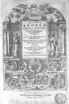[Frontispice portant les représentations d'Hippocrate, Hermès, Galien, Aristote] - Alchymiae