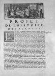 [Bandeau : représentation de savants botanistes ?  / Lettrine : L] - Mémoires pour servir à l'histoi [...]