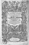 [Frontispice] - Commentaires de M. Pierre André Matthiole medecin senois, sur les six livres de Ped. [...]