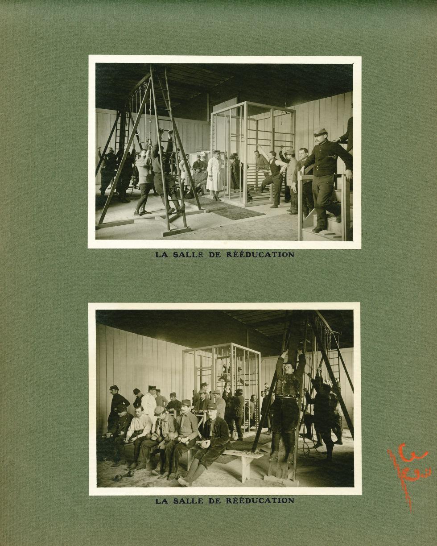 [Le Grand Palais pendant la guerre] La salle de rééducation - Le Grand Palais pendant la guerre (191 [...] -  - med02077x0057