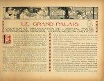 [Bandeau : salle de l'hôpital installé dans le Grand Palais] - Le Grand Palais pendant la guerre (19 [...]