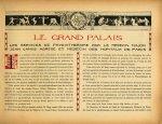 [Bandeau : sport et soins médicaux] - Le Grand Palais pendant la guerre (1914-1915-1916)