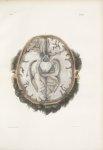 Planche 24 - Coupes horizontales du cerveau, vues par le plan inférieur - Traité complet de l'anatom [...]