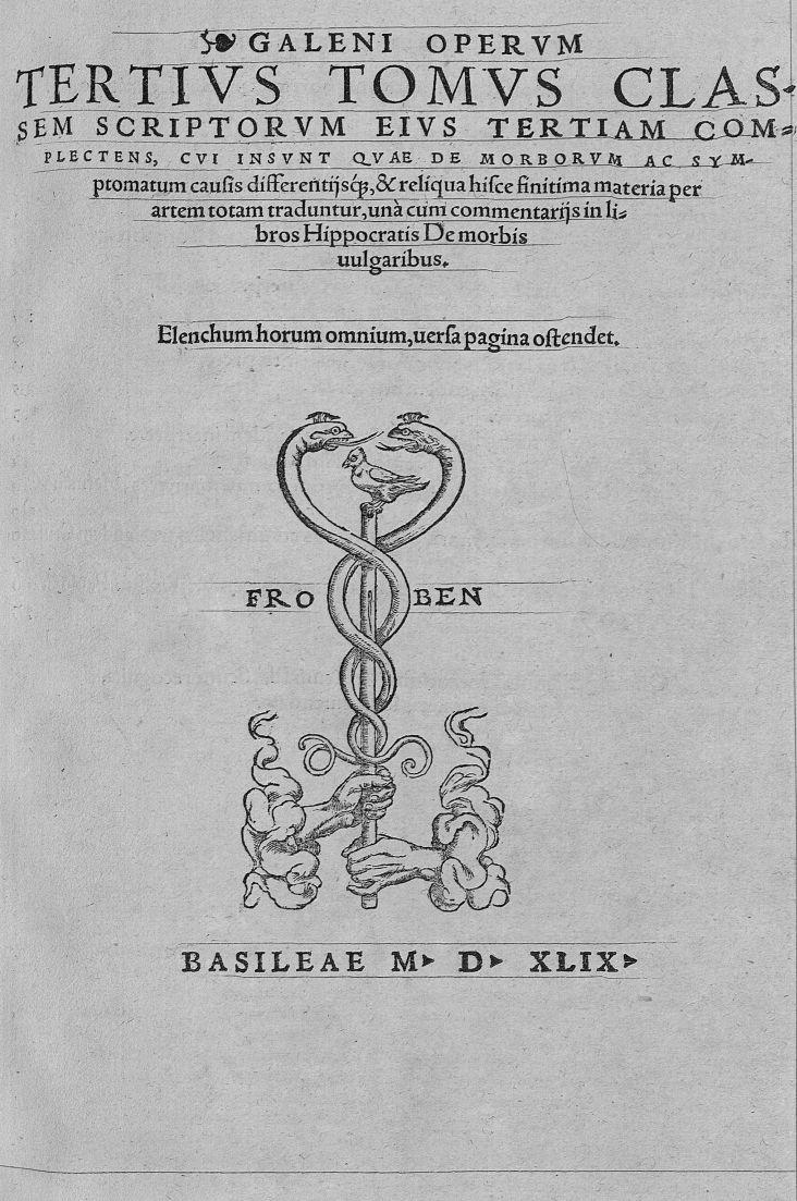 Portada de la traducción latina de Cronarius