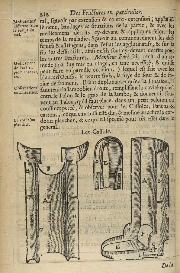 Les cassole - L'Oeconomie chirurgicale, pour le r'habillement des os du corps humain contenant l'ost [...] -  - med05207x0241