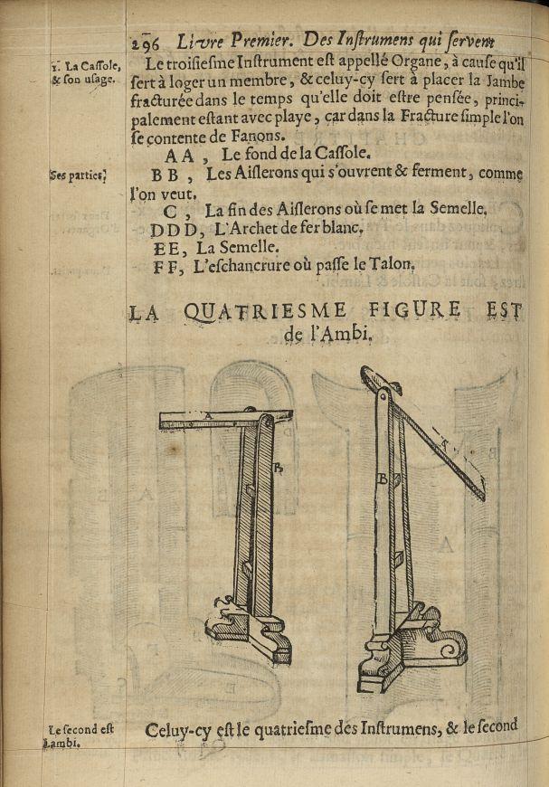 La quatriesme Figure est de l'ambi - L'Oeconomie chirurgicale, pour le r'habillement des os du corps [...] -  - med05207x0325