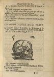 Seconde Figure de la teste - L'Oeconomie chirurgicale, pour le r'habillement des os du corps humain  [...]