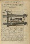 La septiesme Figure est du glossocome, qui est la premiere petite machine - L'Oeconomie chirurgicale [...]