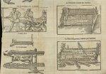 Le simple banc auec la mouffle / Le polycreste, inventé par l'autheur / Le glocossome / Le banc d'Hi [...]